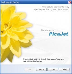 Enlarge PicaJet Free Screenshot