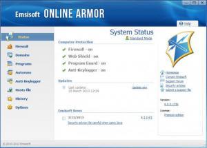 Enlarge Emsisoft Online Armor Firewall Screenshot