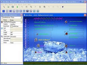 Enlarge AutoRun Design Screenshot
