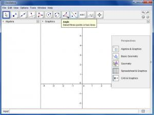 Enlarge GeoGebra Screenshot