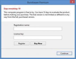 Enlarge BurnAware Premium Screenshot