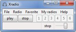 Enlarge xradio Screenshot