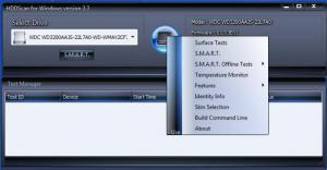 Enlarge HDDScan Screenshot