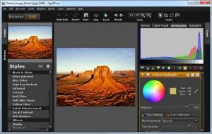 Enlarge LightZone Screenshot