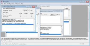 Enlarge Mercury Mail Transport System Screenshot