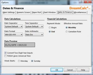 Enlarge DreamCalc Professional Edition Screenshot