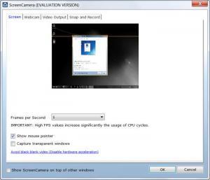 Enlarge ScreenCamera Screenshot