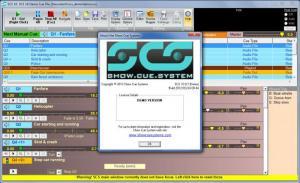 Enlarge Show Cue System Screenshot