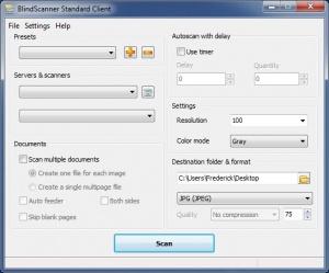 Enlarge BlindScanner Screenshot