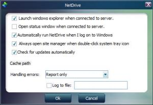 Enlarge NetDrive Screenshot
