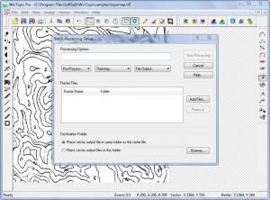 Enlarge WinTopo Pro Screenshot