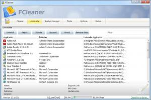 Enlarge FCleaner Screenshot