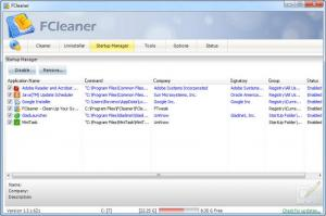 Enlarge FCleaner Screenshot