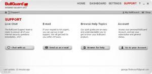 Enlarge BullGuard Internet Security Screenshot