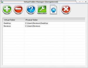 Enlarge Virtual Folder Screenshot