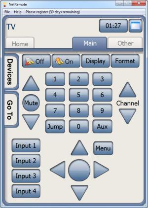 Enlarge NetRemote Screenshot