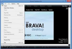 Enlarge Brava! Desktop Screenshot