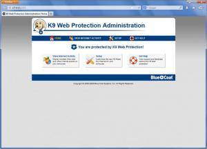 Enlarge K9 Web Protection Screenshot