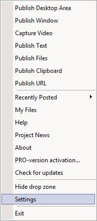 Enlarge Clip2Net Screenshot