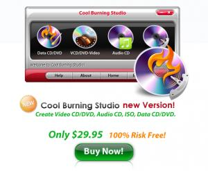 Enlarge Cool Burning Studio Screenshot