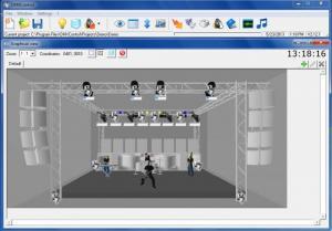 Enlarge DMXControl Screenshot