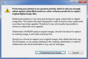 Enlarge iWatermark Screenshot