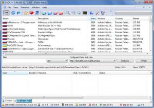 Enlarge AirDC Screenshot