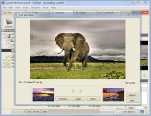 Enlarge FotoFusion Screenshot