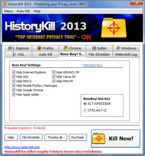 Enlarge HistoryKill Screenshot
