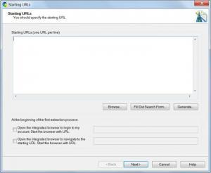 Enlarge Web Content Extractor Screenshot