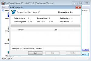 Enlarge BadCopy Pro Screenshot