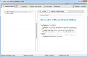 Enlarge Gladinet Cloud Desktop Screenshot