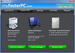 Enlarge My Faster PC Screenshot