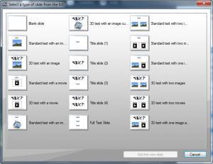 Enlarge Slide Effect Screenshot