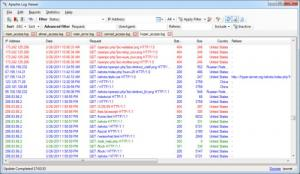 Enlarge Apache Log Viewer Screenshot