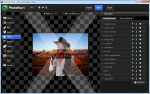 Enlarge PhotoKey Screenshot