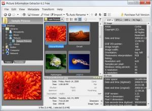 Enlarge Picture Information Extractor Screenshot