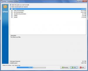 Enlarge IzPack Screenshot