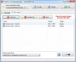 Enlarge PowerEnc Screenshot