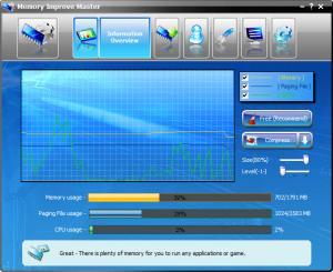 Enlarge Memory Improve Master Screenshot
