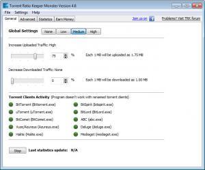 Enlarge Torrent Ratio Keeper Monster Screenshot