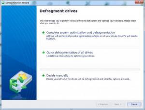 Enlarge JetDrive Screenshot