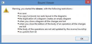 Enlarge BOUML Screenshot