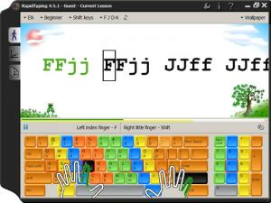 Enlarge Portable RapidTyping Screenshot