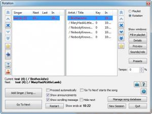 Enlarge Siglos Karaoke Screenshot