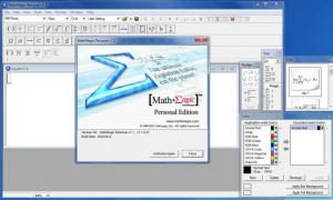 Enlarge MathMagic Personal Edition Screenshot