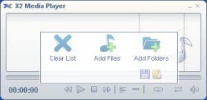 Enlarge X2 Media Player Screenshot
