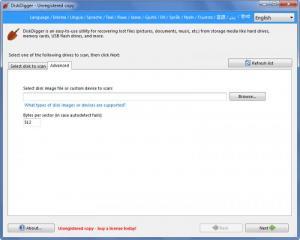 Enlarge DiskDigger Screenshot