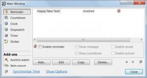 Enlarge TimeLeft Screenshot