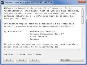 Enlarge AVCutty Screenshot